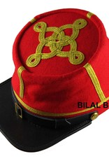 CS / US Kepi rot Major bis Colonel