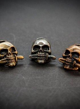 SIRIN Skull m. Messer Bead