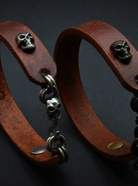Covenant Gears Leather Bracelet