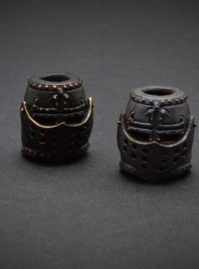 Covenant Gears Black Templar Bead