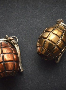 Lion ARMory Hand Grenade Bead