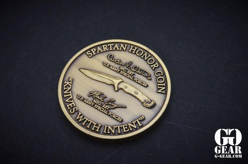 Spartan Blades, LLC Spartan Blades - Honor Coin