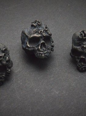 Schmuckatelli The Mind Skull Bead