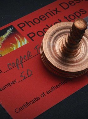 Phoenix Design Pocket Tops Copper Top