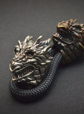 Covenant Gears Dragon Head Bead