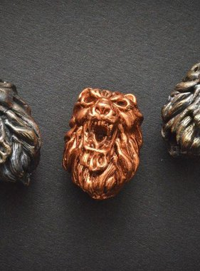 Covenant Gears Lion Head Bead