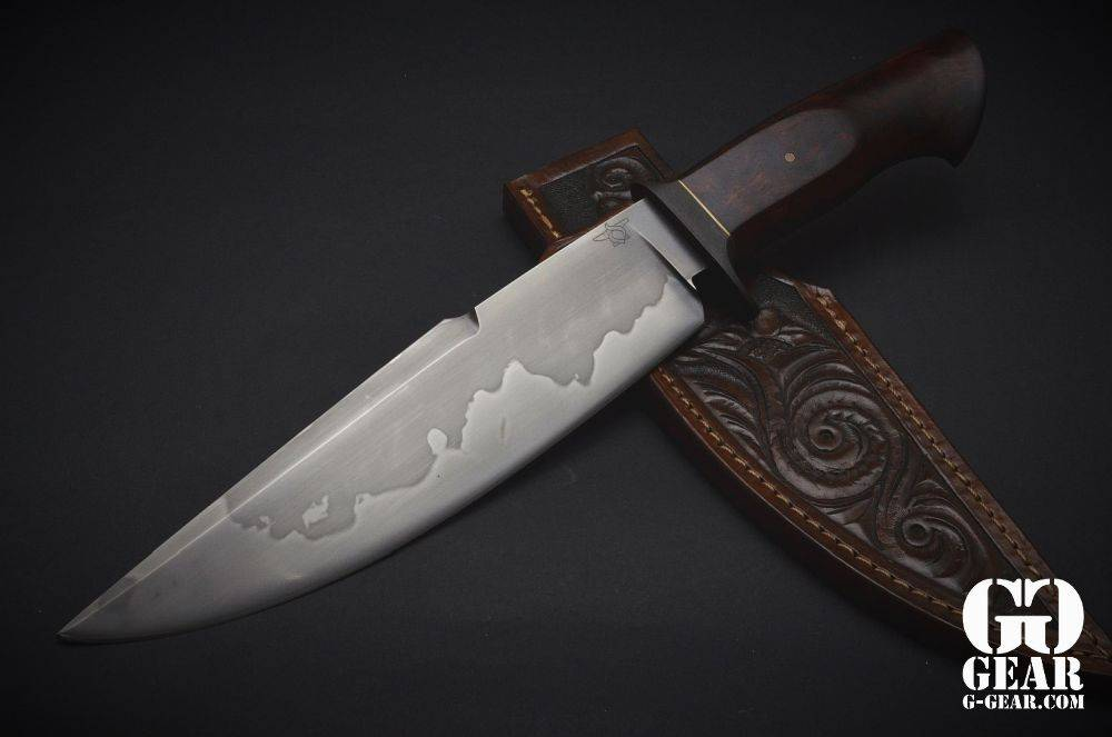Collector's Items Deibert Knives - Big Bowie