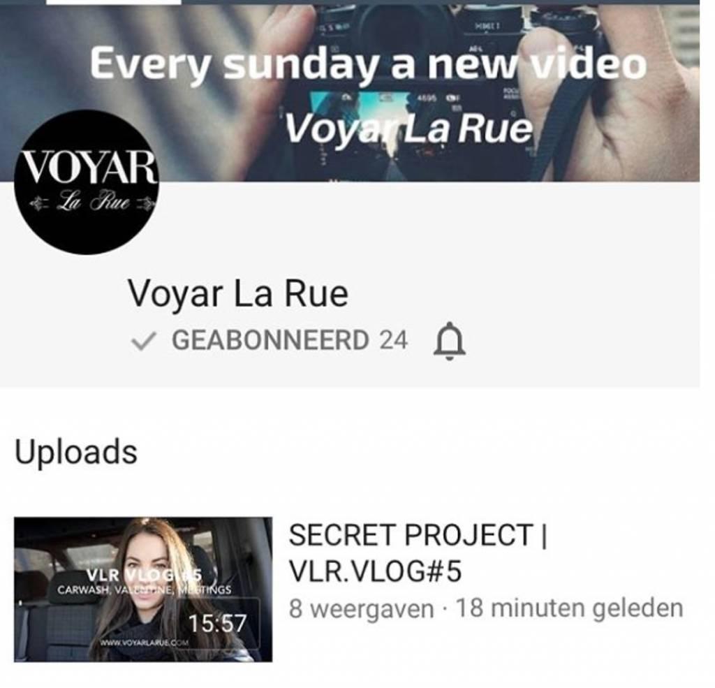 YouTube Voyar La Rue