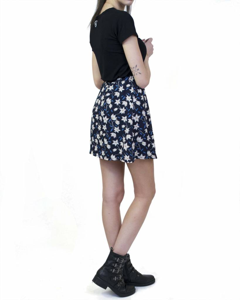 Skirt Flower Blue