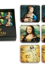 CARMANI - 1990 Leonardo da Vinci - Set - 6 Magneten