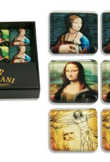 CARMANI - elegante Porzellanserien in Limited Edition. Leonardo da Vinci - Set - 6 Magneten