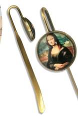 CARMANI - elegante Porzellanserien in Limited Edition. Leonardo da Vinci - Lesezeichen - Mona Lisa