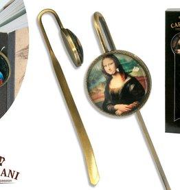 CARMANI - 1990 Leonardo da Vinci - Lesezeichen - Mona Lisa