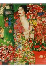 CARMANI - elegante Porzellanserien in Limited Edition. Gustav Klimt - Die Tänzerin - Platzteller- 25 x 25 cm