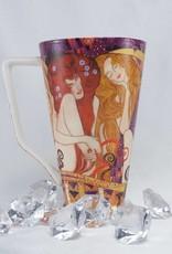 CARMANI - elegante Porzellanserien in Limited Edition. Gustav Klimt - Tasse XL - Beethovenfries