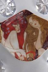 CARMANI - elegante Porzellanserien in Limited Edition. Gustav Klimt - Teabag - Beethovenfries