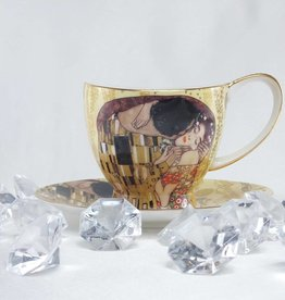 CARMANI - elegante Porzellanserien in Limited Edition. Gustav Klimt - Coffee Cups - Set