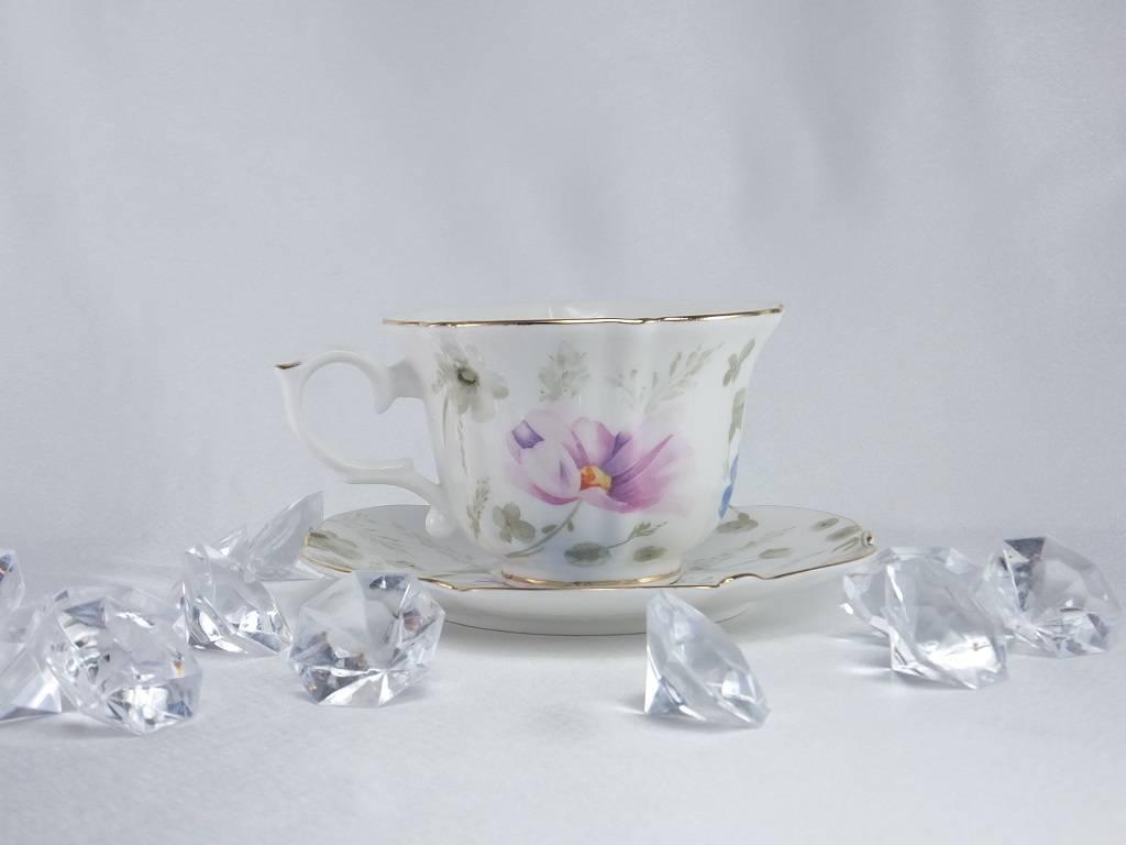 Queen Isabell Piaf - elegante Porzellantassen in Fine Bone China - Twin Tassen classic