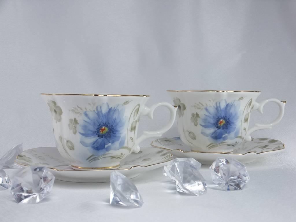 Piaf - elegante Porzellantassen in Fine Bone China - Twin Tassen classic