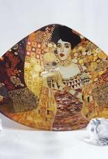 CARMANI - 1990 Gustav Klimt - glass bowl - Adele Bloch Bauer