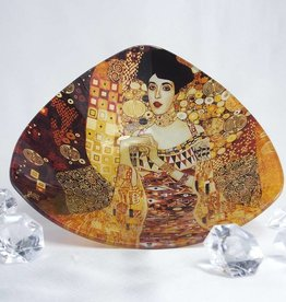 CARMANI - elegante Porzellanserien in Limited Edition. Gustav Klimt - glass bowl - Adele