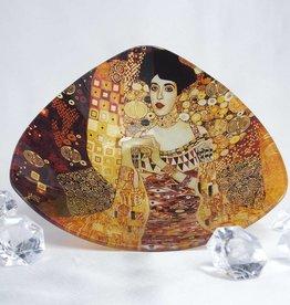 CARMANI - elegante Porzellanserien in Limited Edition. Gustav Klimt - Glasschale - Adele