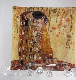 CARMANI Gustav Klimt - Glasteller 30 x 30 cm