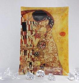 CARMANI - elegante Porzellanserien in Limited Edition. Gustav Klimt - Glasteller 28 x 20 cm