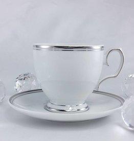 ALTOM MariaPaula - Platin - Kaffeetasse & Untertasse