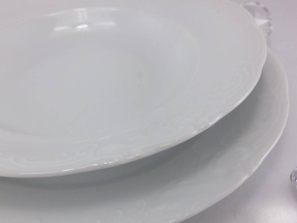 CRISTOFF Marie - Claire - weiß - Porzellanteller in verschiedenen Größen