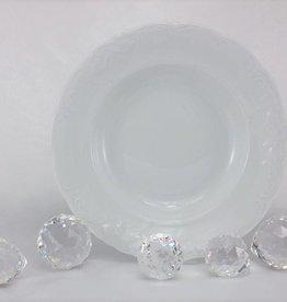 CRISTOFF Marie - Claire - white - porcelain plate & Cups | Coffee Service | Tea service | Espresso cups | For B2B