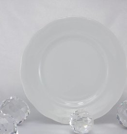 CRISTOFF Marie - Josee - white - porcelain plate