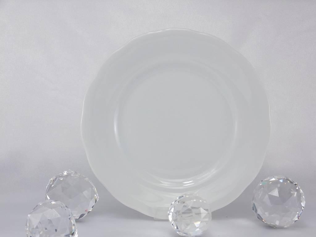 CRISTOFF -1831 Marie - Josee- weiß - Porzellanteller in diversen Größen.