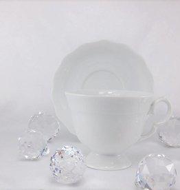 CRISTOFF Marie - Josee - weiß - Tasse mit Untertasse