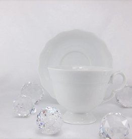 CRISTOFF Marie - Josee - white - cup with saucer