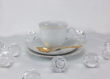 Marie - Luise - Weiß / Gold