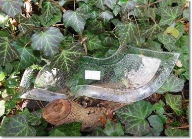 Glas - Tablett - Platzteller