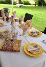 CARMANI - elegante Porzellanserien in Limited Edition. Gustav Klimt - glass plate - The Kiss light - 28 x 20 cm