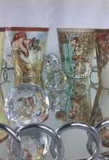 CARMANI - elegante Porzellanserien in Limited Edition. Alfons Mucha - The Fours Seasons - Autumn -  coffee mug set