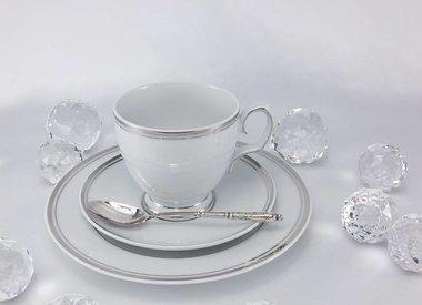 MariaPaula - porcelain  withe / platin