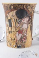 CARMANI Gustav Klimt - Der Kuss - Kaffeetasse X im Geschenkbox