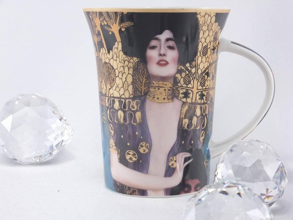 CARMANI - 1990 Gustav Klimt - Judith I - Kaffeetasse im Geschenkkarton