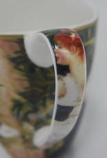 CARMANI - elegante Porzellanserien in Limited Edition. Pierre - Auguste Renoir - Tanz in  der  Stadt  - Kaffeetasse  Vanessa in Geschenkbox