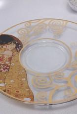 CARMANI - 1990 Gustav Klimt - The Kiss - Coffee cups made of glass