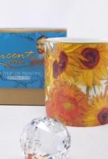CARMANI - elegante Porzellanserien in Limited Edition. Vincent van Gogh - Sonnenblumen - Kaffeetasse inkl. Geschenkbox