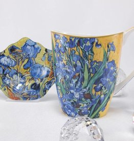 CARMANI - elegante Porzellanserien in Limited Edition. Van Gogh - Irises - Coffee mug Vanesa