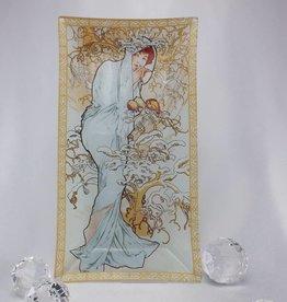 CARMANI Alfons Mucha -  Glasteller - Winter