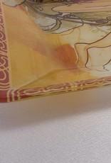 CARMANI - elegante Porzellanserien in Limited Edition. Alfons Mucha - Glasteller - The Four Seasons - Sommer