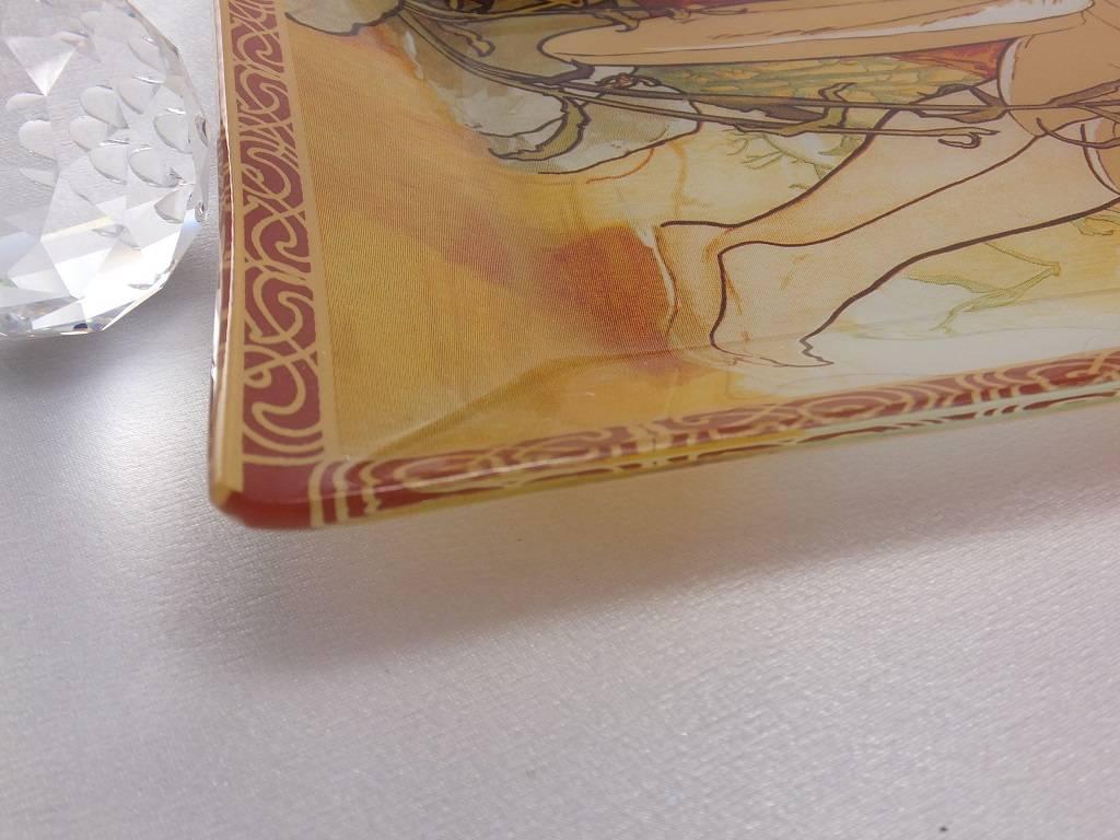 CARMANI - 1990 Alfons Mucha - Glasteller - The Four Seasons - Sommer