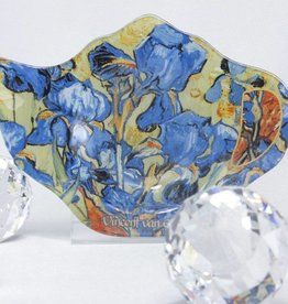 CARMANI - elegante Porzellanserien in Limited Edition. Van Gogh -Tea bag -  Irises